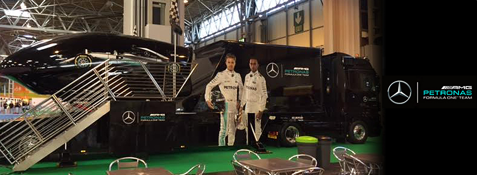 The Mercedes AMG Petronas F1 Experience from Active Simulators